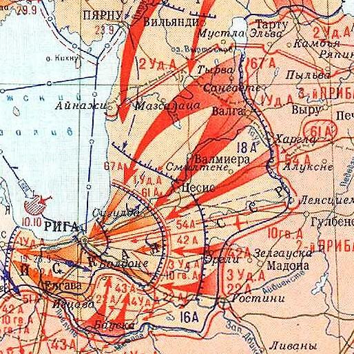 70 лет назад развернулась операция по освобождению прибалтики - из десяти сталинских ударов 1944 г